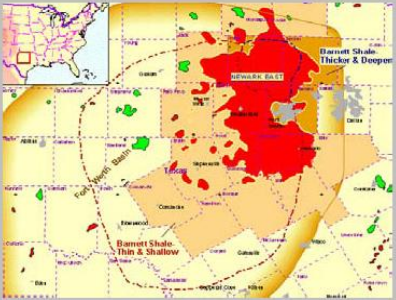 Barnett shale gas play texas natural gas marketing barnett natural the undeveloped section corresponds with those areas of the barnett that have not been developed by the companies publicscrutiny Gallery